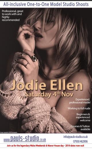 Jodie Ellen Studio Day Saturday 4th November 2017