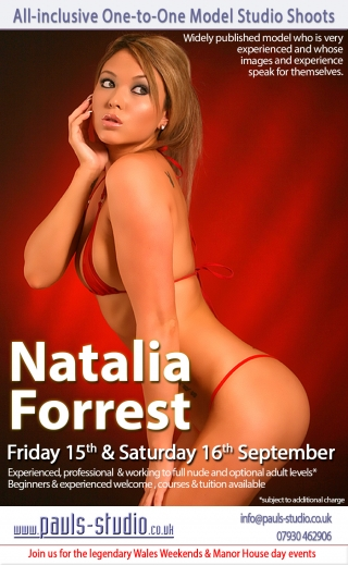 Natalia Forrest Studio Day Sayurday 16th September 2017