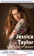 Jessica Taylor Studio Day Saturday 19th January 2019 One to One Shoots