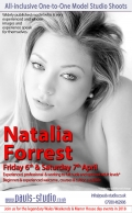 Natalia Forrest Saturday 7th April 2018 Studio Day One to One Shoots