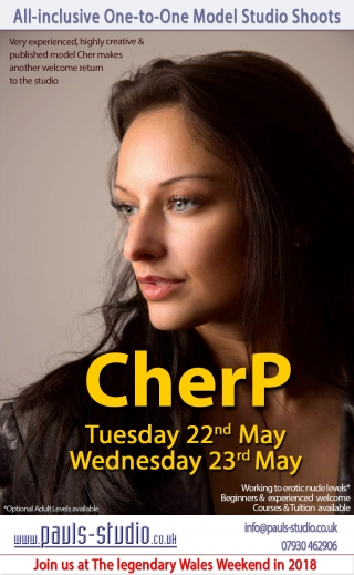 Cher P Wednesday 23rd May 2018 One to One Photoshoots