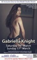 Gabriella Elena Saturday 16th March 2019 Studio Day One to One Shoots