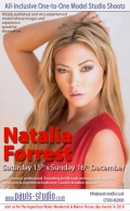 Natalia Forrest Studio Day One to One Shoots Saturday 15th December 2018
