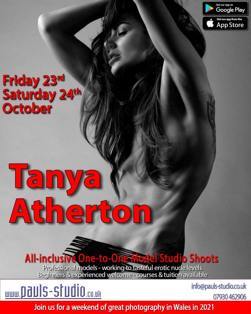 Tanya Atherton Model Studio Day One to One Shoot
