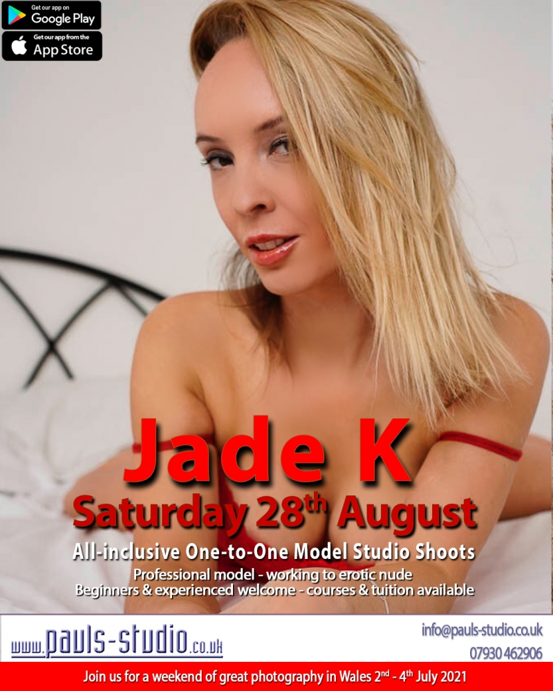 Jade K Model Studio Day One to One Shoots