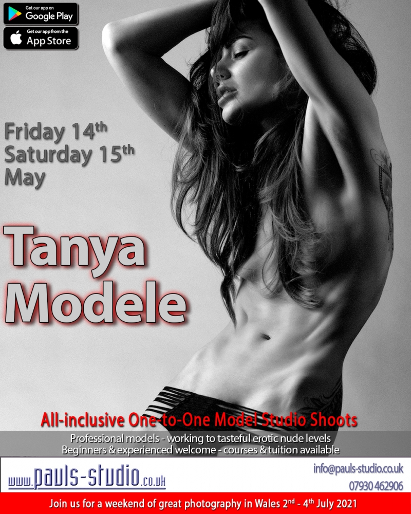 Tanya Atherton Model Studio Day One to One Bookings