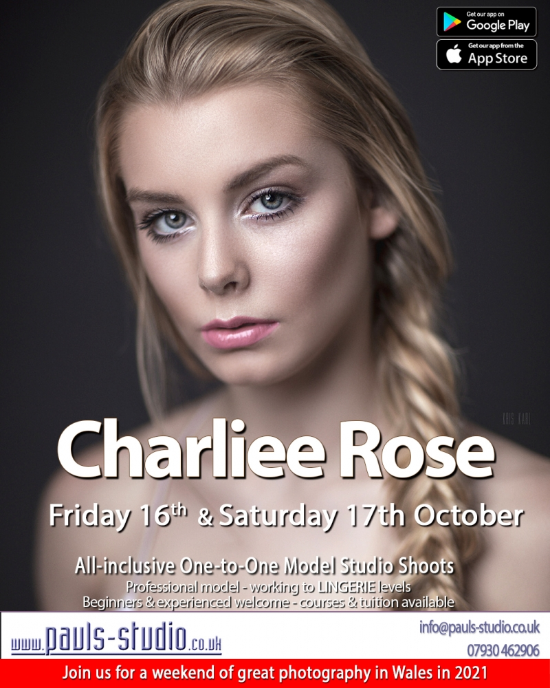 Charliee Rose Model Studio Day - One to One Shoots