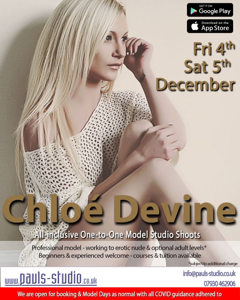 Chloe Devine Model Studio Day One to One Shoots