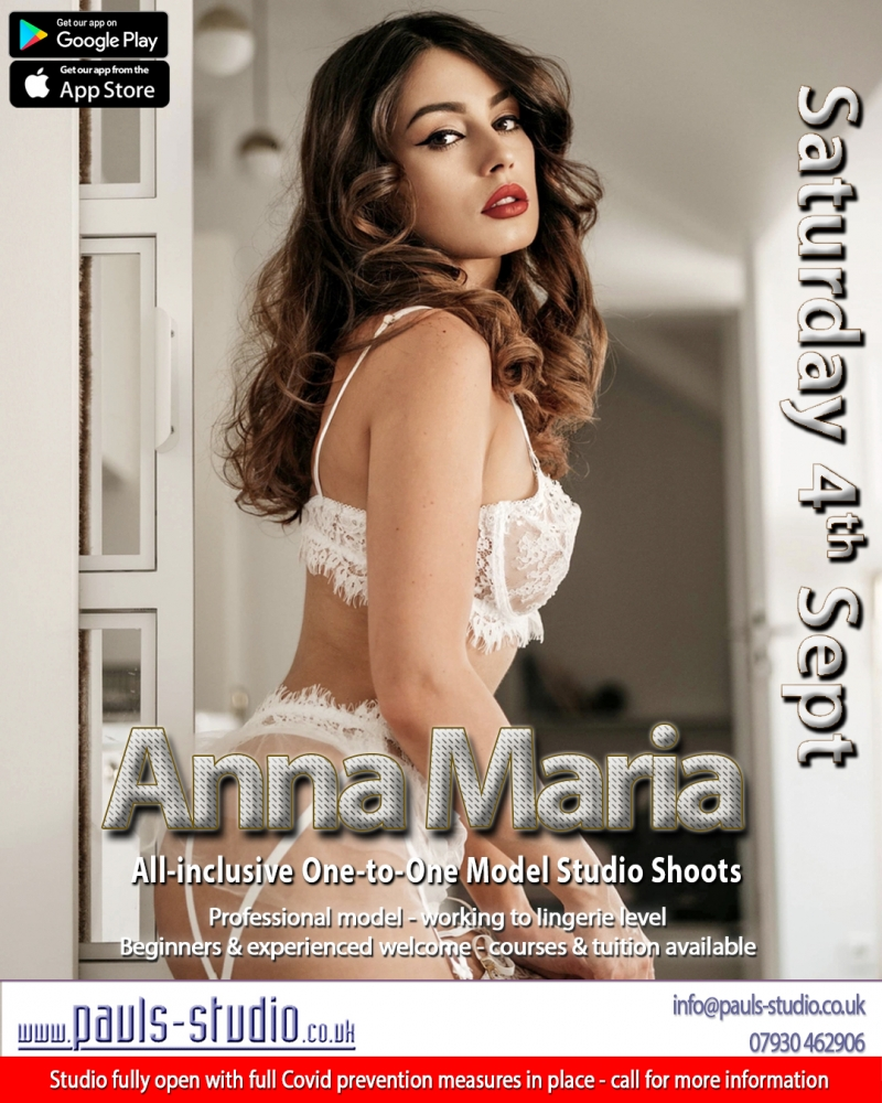 Anna Maria Model Studio Day One to One Shoots