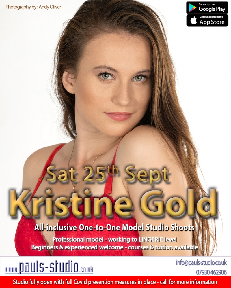 Kristine Gold Model Studio Day One to One Shoots